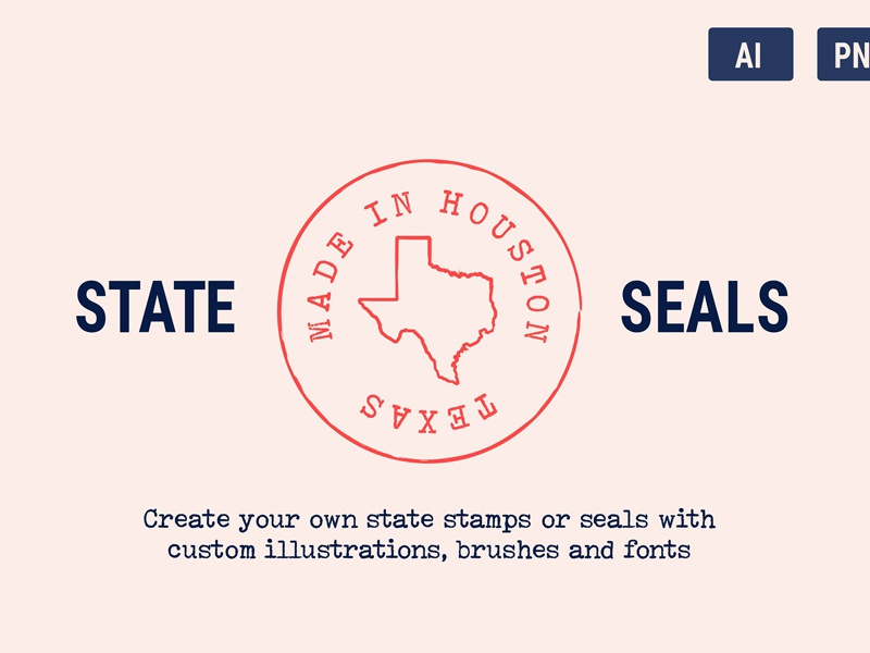 State Seals & Stamps by Fonts Collection on Dribbble