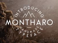 Montharo Typeface - FREE DOWNLOAD