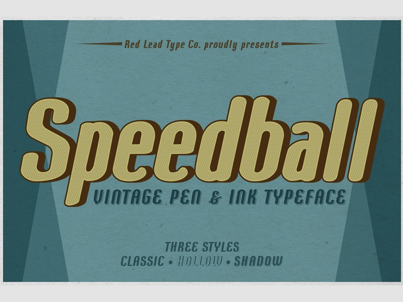 Speedball Pen & Ink Typeface ( FREE Download ) free download hollow speedball pen typeface ink typeface classic shadow font typeface retro pen and ink vintage