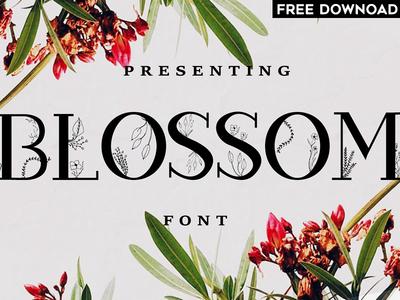 Blossom Font + EXTRAS