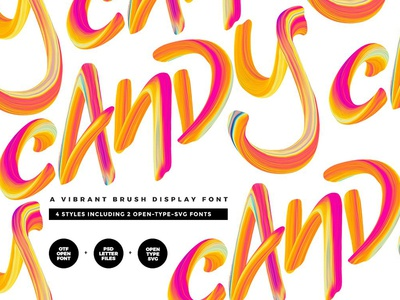 Candy Display Script + SVG