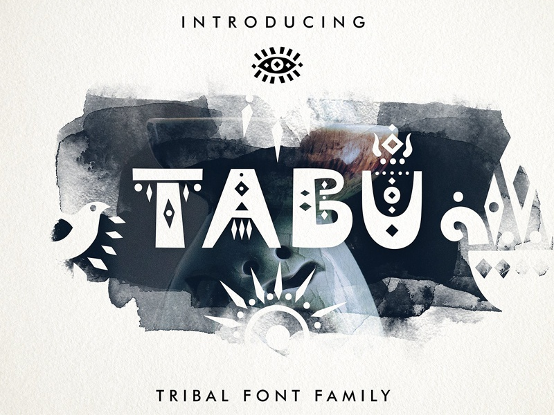 Tabu - Tribal Font Family - FREE Download by Fonts