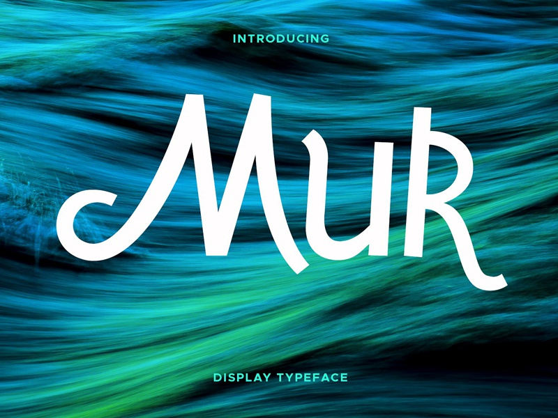 Download Mur Typeface - FREE Download by Fonts Collection on Dribbble