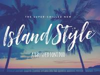 Island Style Brushed Font Duo