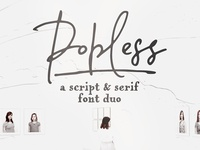 Popless | a font duo
