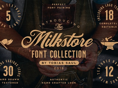 Milkstore Font Collection brush font handwritten signature typeface typography milkstore modern calligraphy font collection fonts collection brush script font logo branding script calligraphy font texture retro lettering vintage