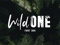 Wild One - A Wild Font Duo