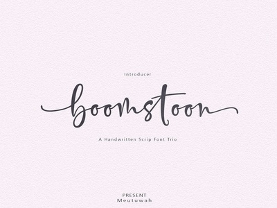 Boomstoon Font Trio