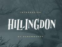 Hillingdon Font + Extras