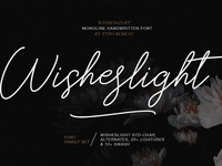 Wisheslight - Handwritten Font