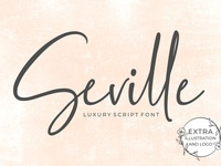 Intro 50% Off- Seville Script Fonts
