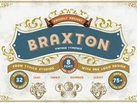 Braxton Extra Pre LogoDesign