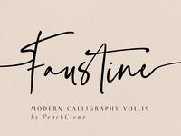 Faustine //Modern Script INTRO PRICE
