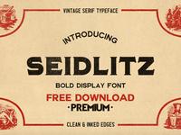 Free Premium Download - Seidlitz Font
