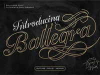 Ballegra Delicious Calligraphy