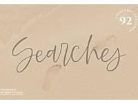 Searches | Handwritten Font