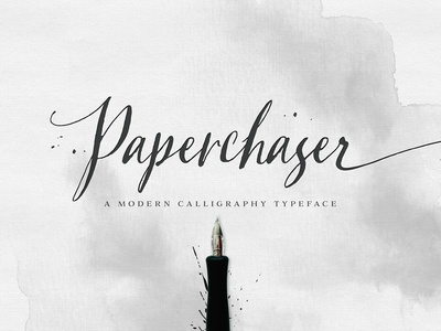 Paperchaser Calligraphy | SALE!