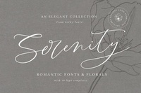 Serenity Collection Fonts & Graphics