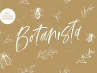 Botanista | Font + Illustrations