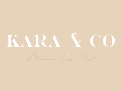 Kara & Co - Fashion Serif Font
