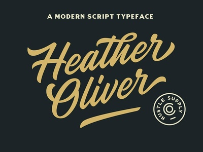 Heather Oliver - A Modern Script