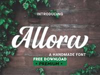 Free Premium Font - Allora