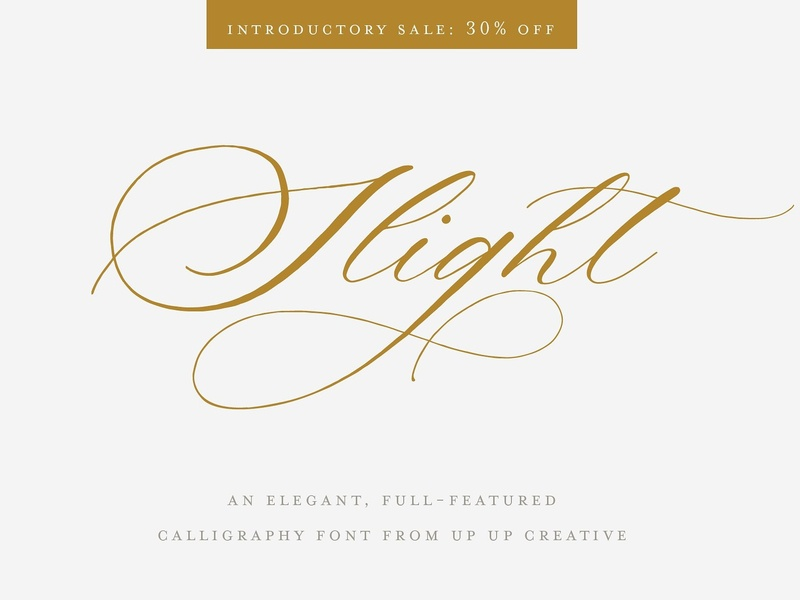 Wedding Calligraphy Fonts.Slight A Calligraphy Script Font By Fonts Collection On Dribbble