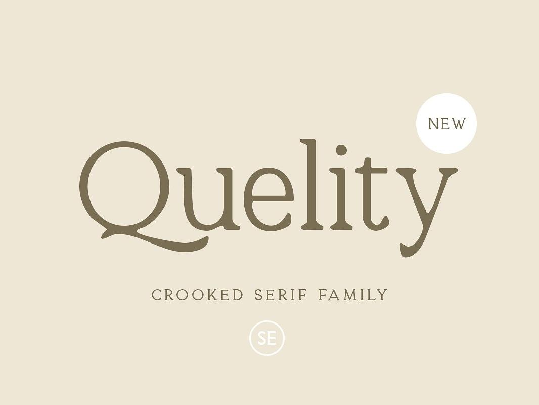 Quelity - Crooked Serif Font typeface lettering typography modern classy magazine bold fonts bold organic logo branding sans serif script font family font serif family crooked serif font serif crooked serif font