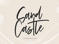 Sandcastle - Handwritten Script Font