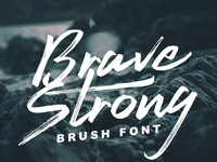 Brave Strong Font