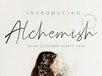 Alchemish Script Font