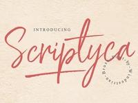 Scriptyca | Brush Font