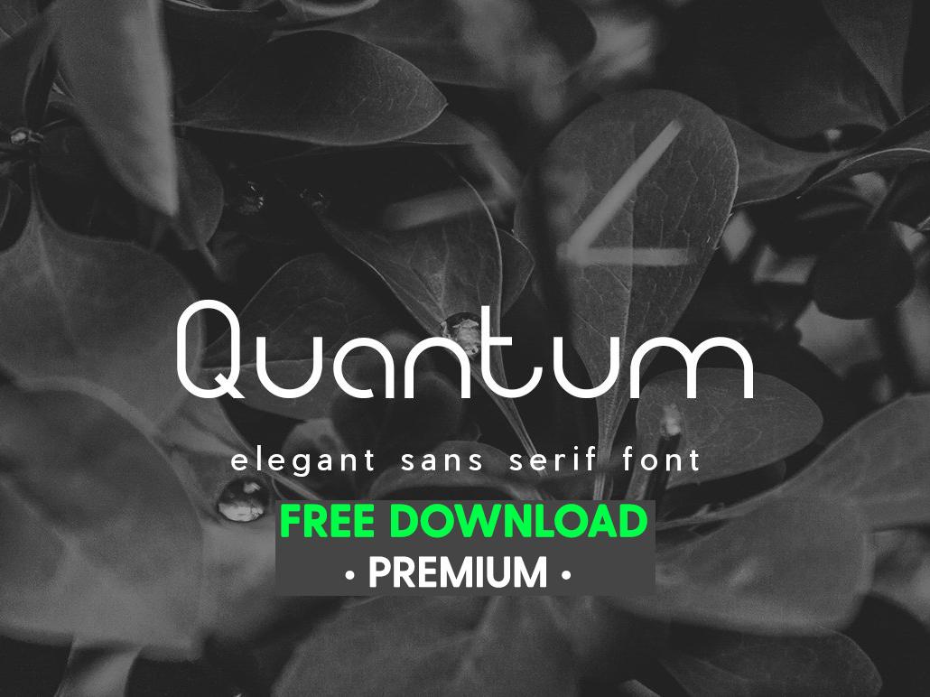 Dribbble / free font