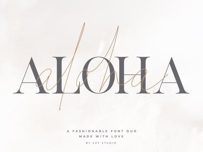 Aloha - Fashion Duo Font