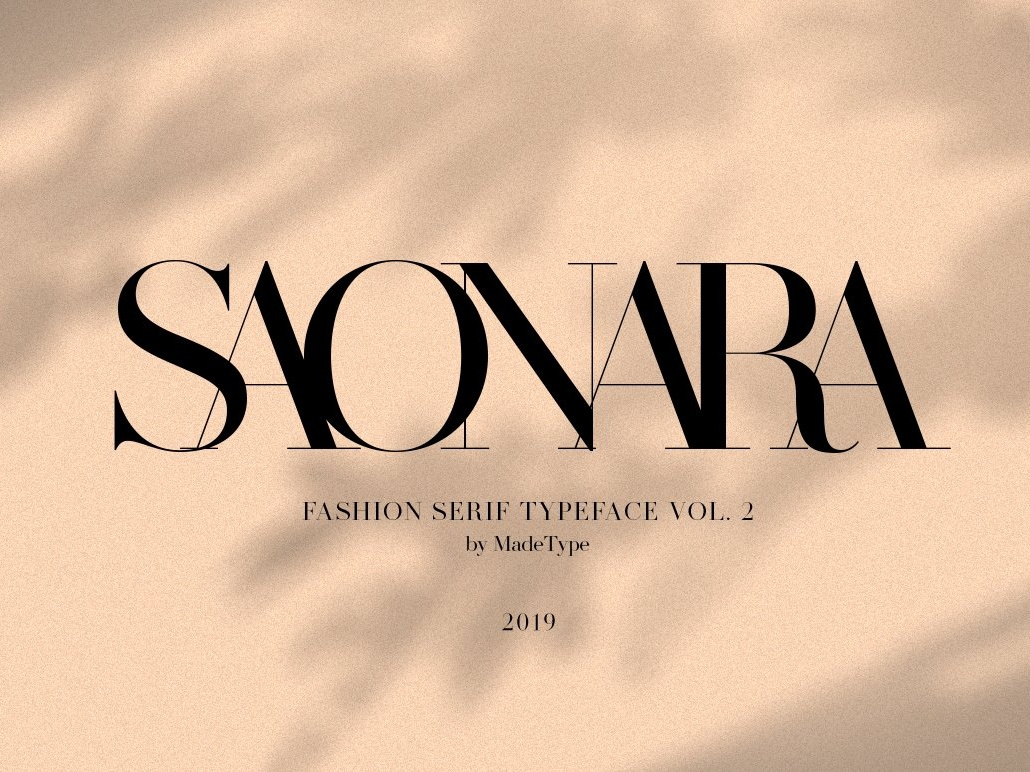 MADE SAONARA modern calligraphy fonts collection elegant typeface lettering calligraphy typography modern logo branding font fashion serif font fashion serif fashionable font fashionable fashion font fashion serif typeface serif font serif
