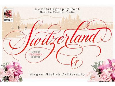 Switzerland Stylish Calligraphy