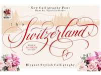 Switzerland Stylish Calligraphy