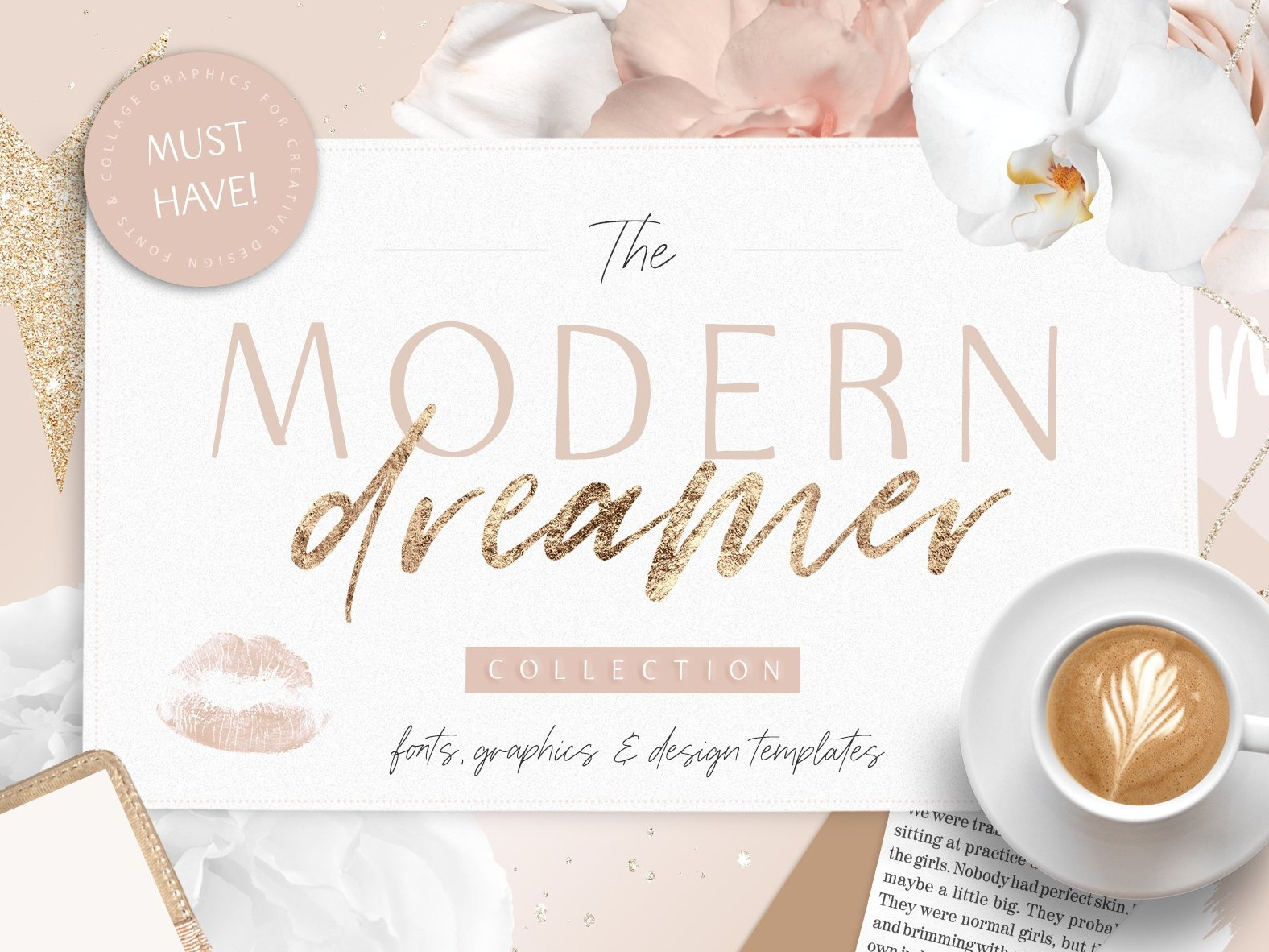 Modern Dreamer Font Bundle graphics blog fashion branding watercolor fonts signature fonts elegant fonts typography calligraphy fonts modern fonts script fonts brush fonts logo fonts modern logo luxury font bundle font modern dreamer font modern dreamer modern