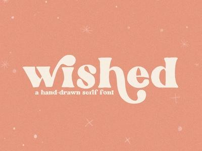 Wished | Hand-drawn Serif Font