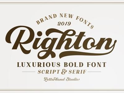 Righton - Script & Serif Font Duo