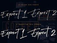 Expert brush font 2