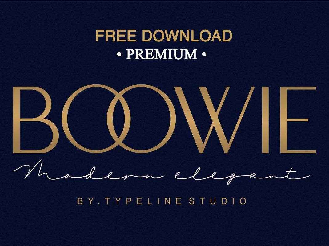 FREE Download - Boowie || Modern minimalist elegant  by