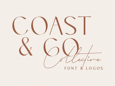 Coast & Co Font and Logos