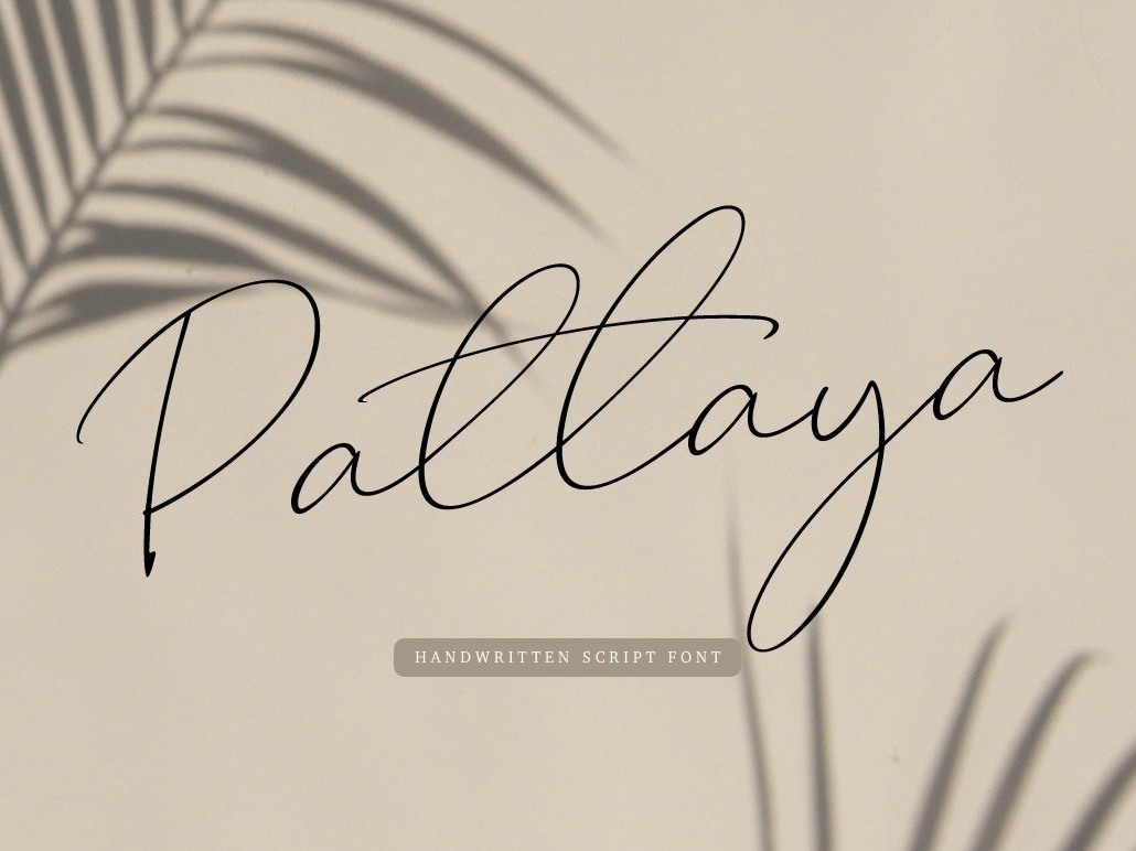 Pattaya by Fonts Collection on Dribbble