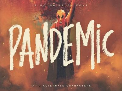Pandemic - Brush Font