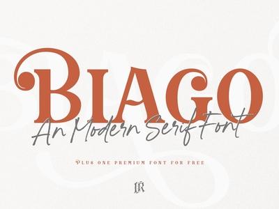 Biago Font + BONUS