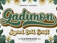 Gadimon Layered Font