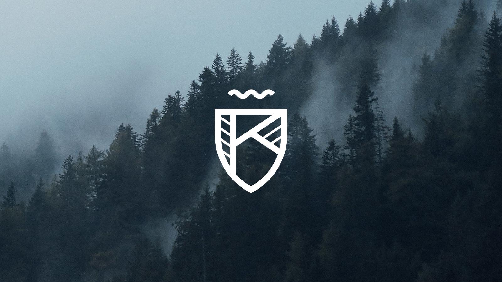 Logo on photo