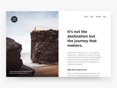 Kersvers Blog Article editorial clean split webdesign photography agency gotham news article blog