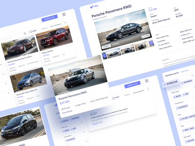 VAC | Inventory branding ux app catalogue blue inventory smart ui figma creative vector design